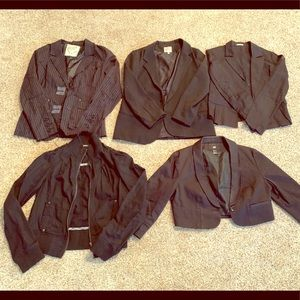 Lot of 5 blazers/jackets size L